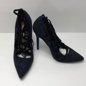 Madison Lace Up High Heels Brand new size 9